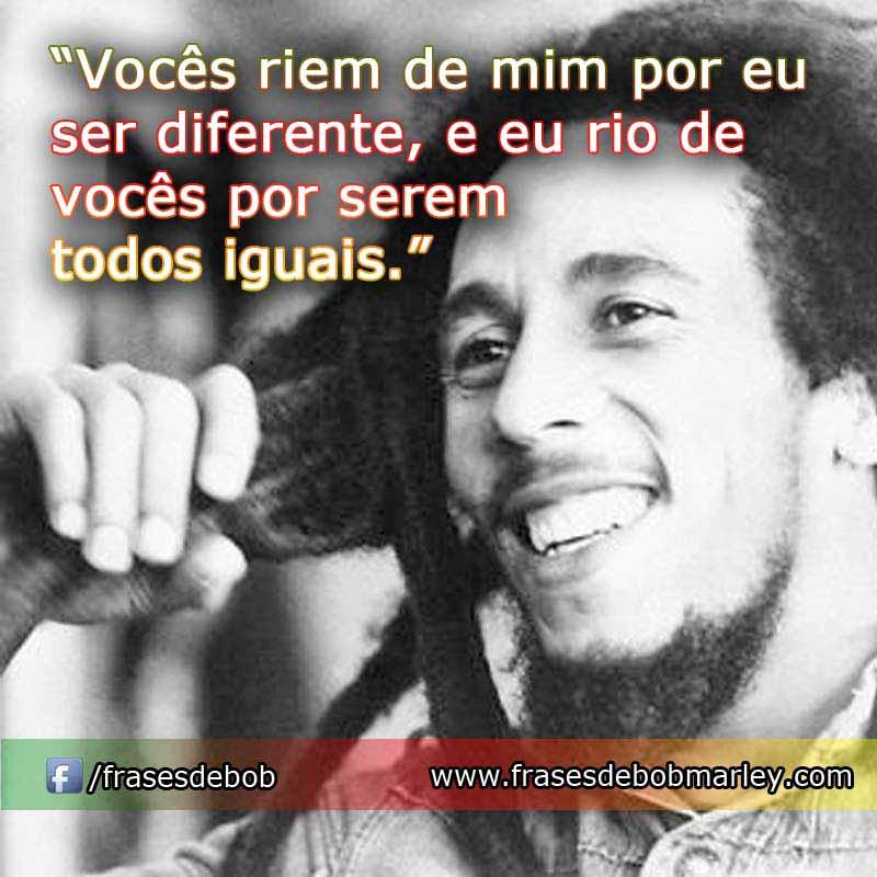 Frases de Bob Marley - Belas Mensagens